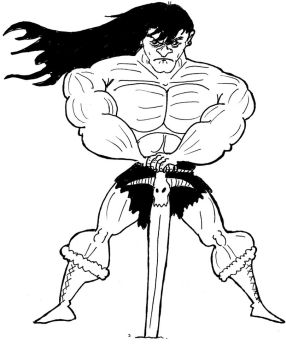 Conan sketch by TheNoirGuy
