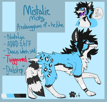 Mistalie Ref Sheet by Anr00