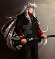 DOGS AND SWORDS Hanyou Inuyasha by LenBarboza