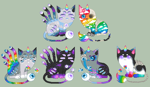 Breeding Batch 102- Aeno x Rainbowpox -closed- by Elevera