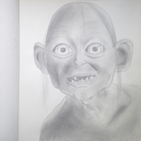 Gollum drawing by NenaWholock11B