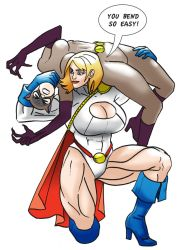 Power girl and Catwowan by parmaali
