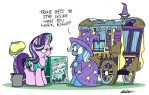 Working at the Cart-Wash by bobthedalek