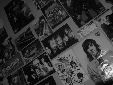 My Poster Wall by crayon-warrior-blue