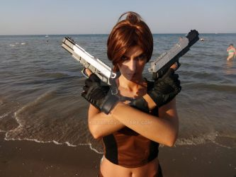 Lara Croft Tomb Raider Underworld cosplay 6 by kira86