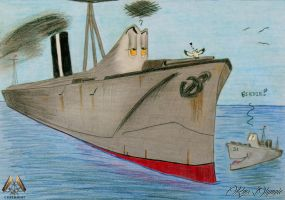Entertaining the Kiddy ~ Commission by RMS-OLYMPIC
