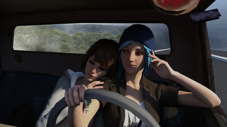Life is strange: roadtrip by TheArcadian0125