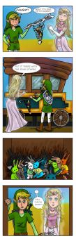 LOZ : Rabbits by Campanita42