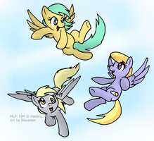 Pegasus Flying Fun! by Blayaden