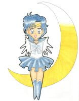 Sailor Mercury by Naki-dono