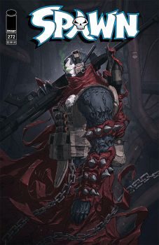 Spawn #272 cover. by duster132