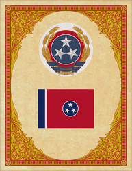 Seal and Flag of Tennessee by ThaDrummer