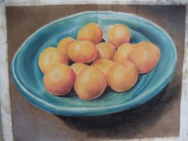 A Bowl of Clementines by YouHaveAShortMemory