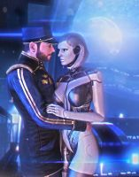 Forever.... (Mass Effect) by SallibyG-Ray