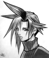 Cloud Strife by dragonsnap24