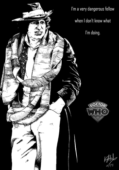 The Fourth Doctor by The-13th-Doctor