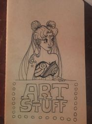 Art journal cover  by charmie