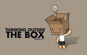 Thinking Outside The Box by mclelun