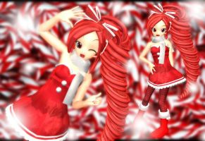 MOTME July: Candy Cane by AshandFire