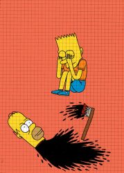 Dead Homer by Teagle
