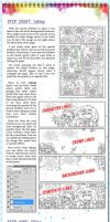 Comic Page Tutorial - Steps 8-9 by glitcher