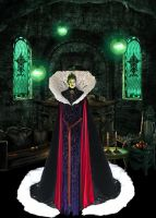 The Evil Queen....Grimhilde's Chambers by countess1897