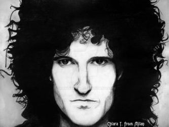 Brian May Queen by DrawnByYou