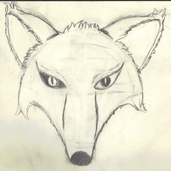 Fox sketch by LordOfTheFoxes