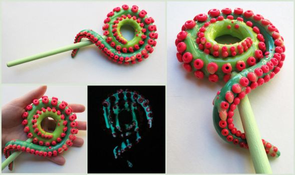 Tentacle lolly by KTOctopus