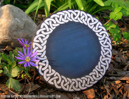 Celtic Knotwork Base - WIP by WildSpiritWolf