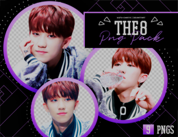 PNG PACK: THE8 (Seventeen) by Hallyumi