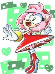 Amy Rose by SmallDarkBow