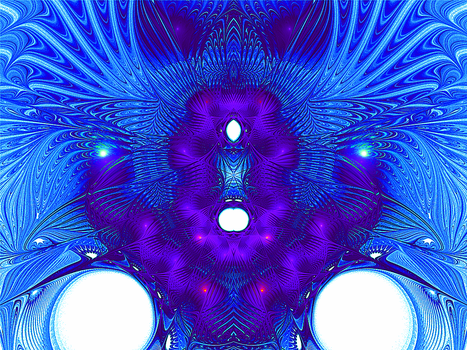 parallel universe spaceship - front view by ChasMandala