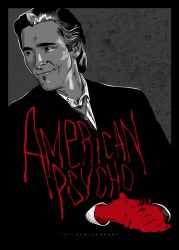 American Psycho 15th Anniversary poster by ADN-z