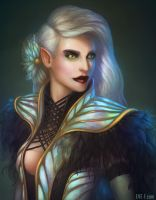 Portrait of an Elf by SophoraEve