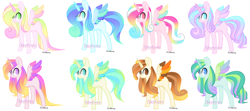 Pony Adoptables! [Closed] by Adopterino