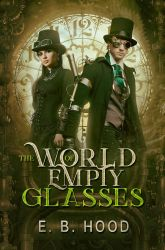 Book Cover - The world of empty glasses by MirellaSantana