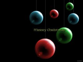 Christmas Spheres by Thradia