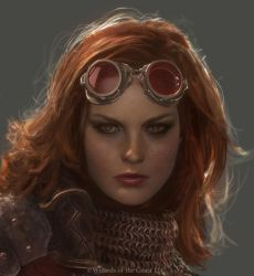 Chandra Portrait by Cryptcrawler