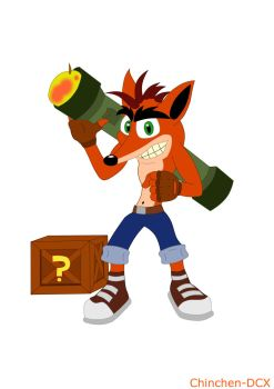 Legends of PlayStation - Crash Bandicoot by Chinchen-DCX