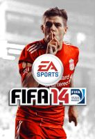 Alternative FIFA 14 Cover Steven Gerrard by xerix93