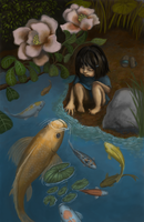 conversations with koi by kGoggles