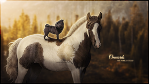 Onwards My Noble Steed - Commission by Ellessy