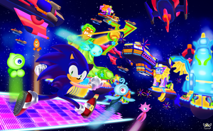 Sonic Colors Starlight Carnival by KonKonna