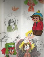 southparksketches by chilica