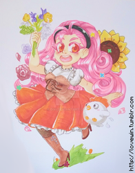 [CM] Marker Commission of Popuri for LaughingLibra by divi