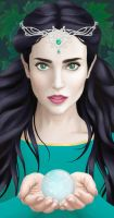 Luthien and the Silmaril by rachels89