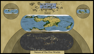 The Five Realms by Vamuli