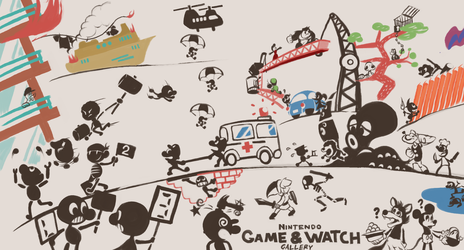 Game and Watch Gallery by Scarlet-Ajani