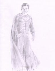 Henry Cavill Superman by MHT002